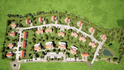 Schéma Zelené rezidence