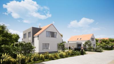 Vizualizace Zelená rezidence