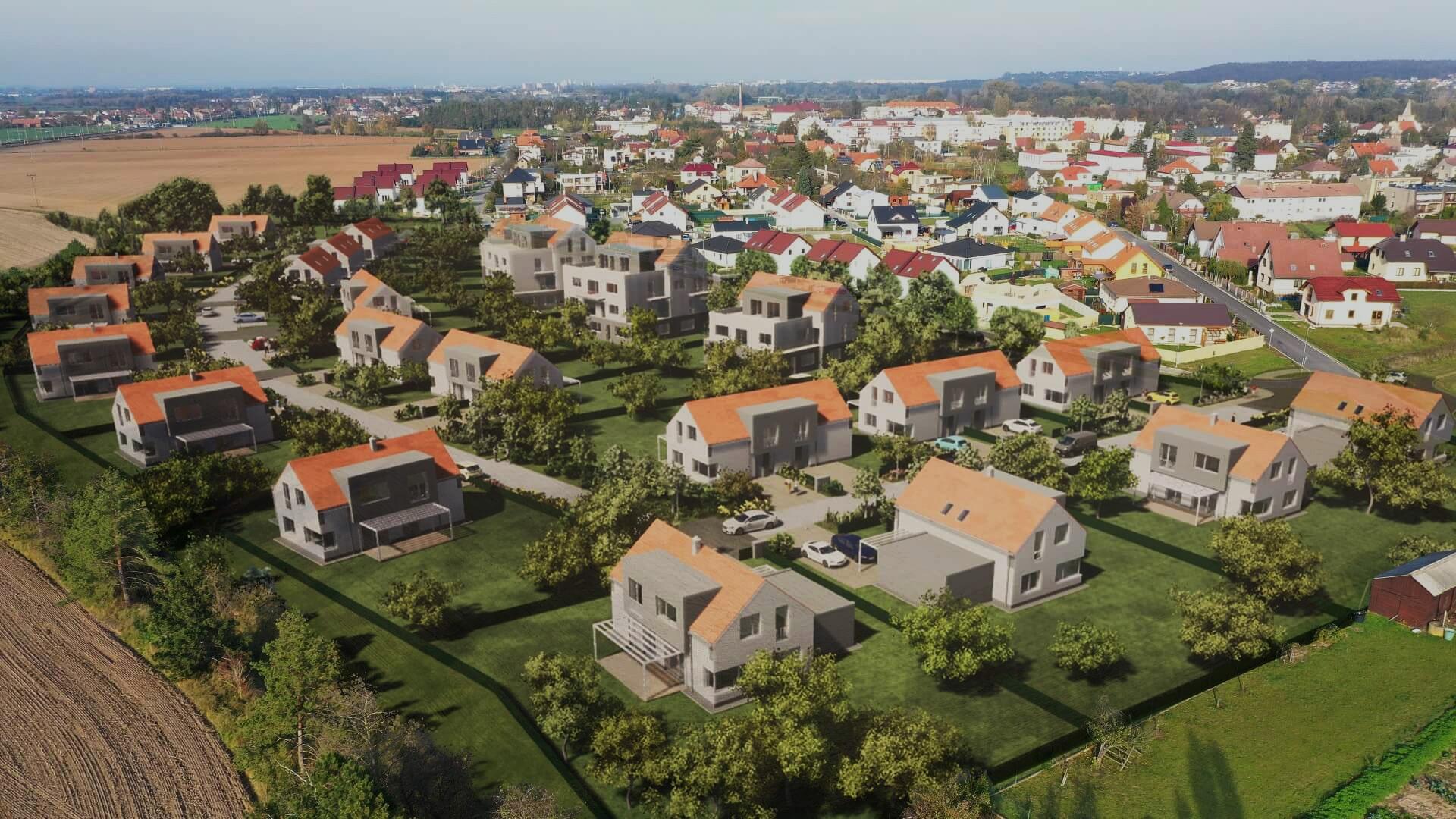 Slider 1 - Zelená rezidence - Opatovice nad Labem