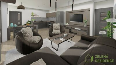 Vzorový interiér bytu B9, C9